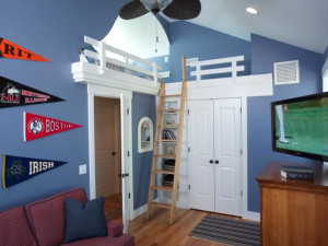 Guest room at Bald Head Island Limited.
