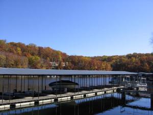 Boat dock at Alhonna Resort.
