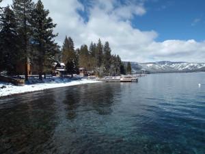 Lake view at Tahoma Lodge.