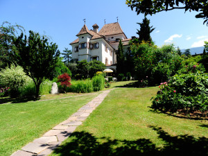 Exterior view of Castel Rundegg Hotel & Beauty Farm.