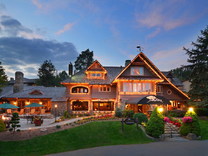 Exterior view of Chetola Mountain Resort.