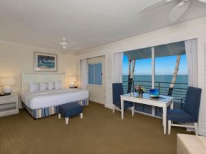 Guest room South Seas Resort.