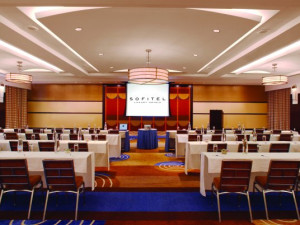 Conference room at Sofitel Philadelphia.