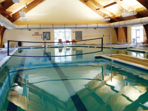 Indoor pool at King's Creek Plantation.
