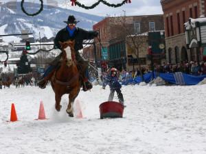 Winter carnival at Torian Plum Resort.
