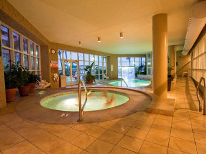 Indoor pool at Perdido Beach Resort.