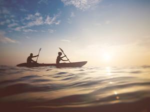 Kayaking at Cliff House Resort & Spa.