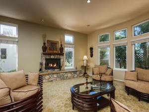 Rental living room at North County Property Group.