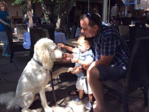 Family friendly rentals at Two Casitas, Santa Fe Vacation Rentals.
