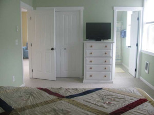 Guest room at Bella Beach Property Management.