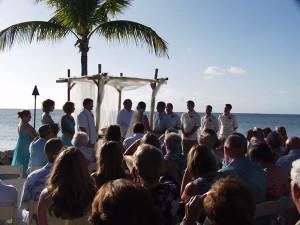 Weddings at Lookout Lodge Resort.
