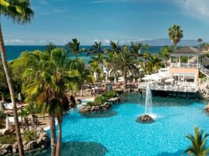 Outdoor pool at Gran Hotel Bahia del Duque.