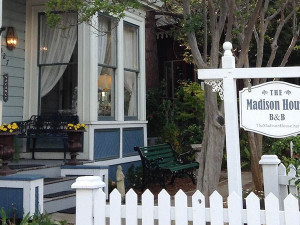 Exterior view of The Madison House Bed & Breakfast.