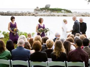 Wedding Ceremony at Oceanstone Seaside Resort