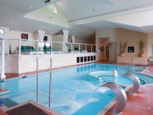 Indoor pool at Sir Sam's Inn.