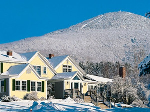 Winter time at The Red Clover Inn Restaurant & Tavern.