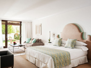 Guest room at Marbella Club Hotel, Golf Resort & Spa.