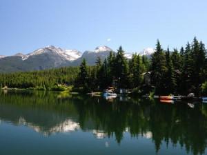 Mountain view at Whistler Premier Resort.