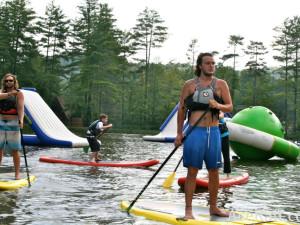 Water activities at ACE Adventure Resort.