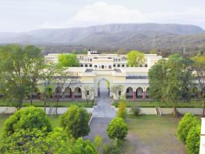 Exterior view of Sariska Palace Hotel.
