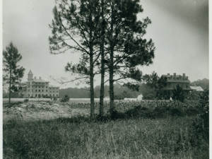Historical photo of Jekyll Island Club Hotel.