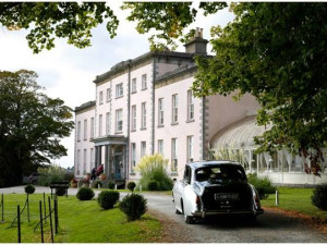 Exterior view of Longueville House Hotel.
