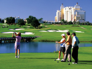 Golf courses near Florida Paradise Villas.