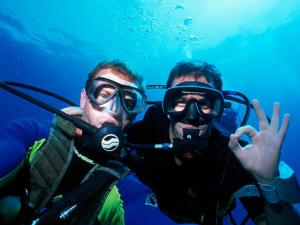 Divers at Orange Hill Beach Inn.