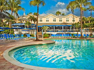 Outdoor pool at Sheraton Suites Key West.