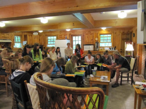 Conference at Rockywold-Deephaven Camps.