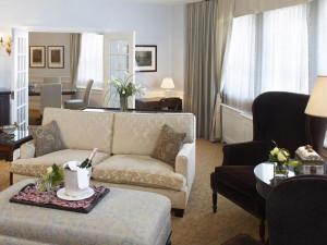 Executive suite at Fairmont Le Chateau Frontenac.