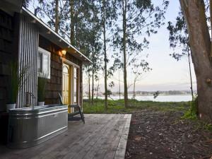 Vacation rental exterior at Redwood Coast Vacation Rentals.