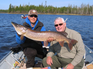 Fishing at Edmund Lake Lodge