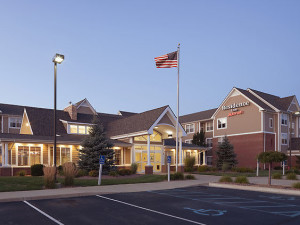 Exterior view of Residence Inn Saginaw.