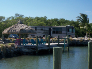Exterior view of Grassy Key RV Park & Resort.