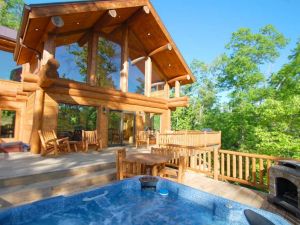 Luxury Vacation Rental at Bryson City Cabin Rentals