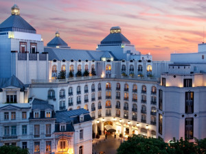 Exterior view of Conrad Brussels.