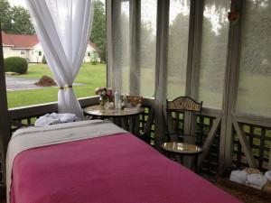 The spa at Albergo Allegria.