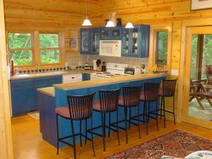 Kitchen view at Splendor Mountain.