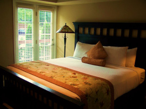 Guest room at The Residences at Biltmore.