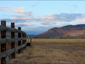 Scenic views at Rand Creek Ranch.