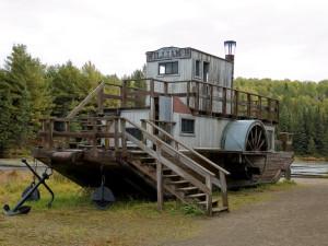 Algonquin Logging Museum near Killarney Lodge in Alqonquin Park.