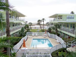 Outdoor pool at Tropic Terrace Resort.