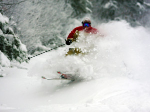 Skiing near Eastern Slope Inn Resort.