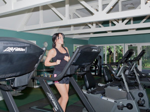 Fitness room at Sea Palms Resort.