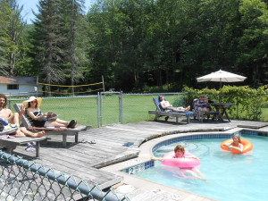Outdoor pool at Cold Spring Lodge.