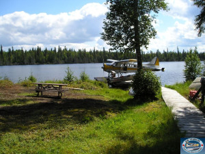 The Lake at Air Ivanhoe Ltd Wilderness Adventures Fly-in Fishing and Lodge