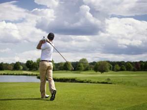 Golf course near Gull Lake Resort.