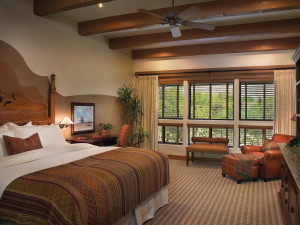 Guest room at Canyon Ranch Tucson.