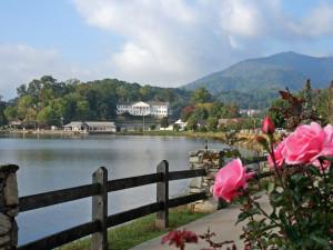 Lake view at Lake Junaluska Conference & Retreat Center.